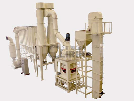 Micronized grinding mill plant